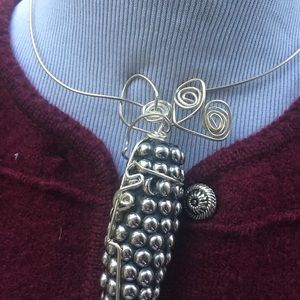 Handmade wire necklace